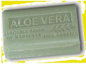 Jabon de Marsella con Aloe Vera