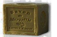 cubo jabón de marsella de oliva 300gr-600gr